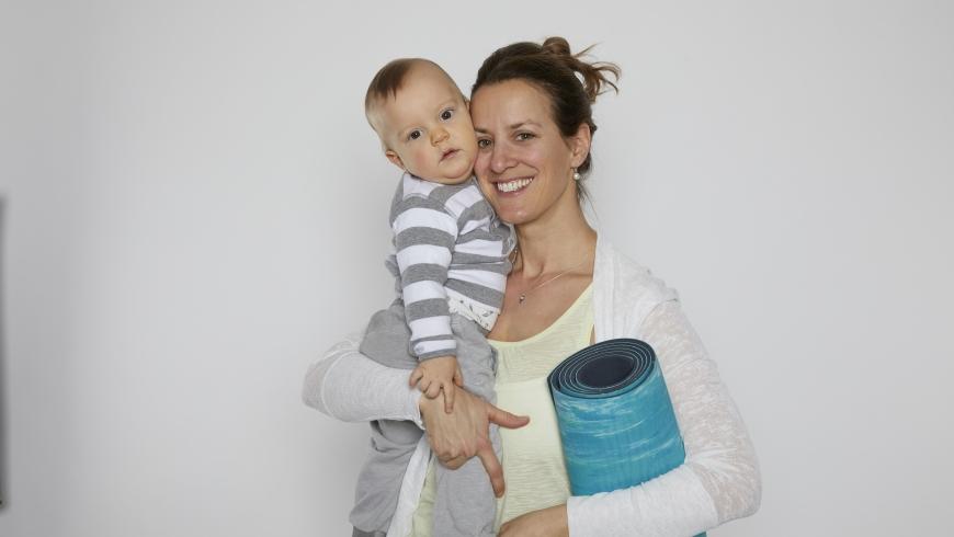 Rückbildung mit Baby April 2020