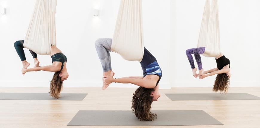 Aerial Yoga Einsteiger Kurs