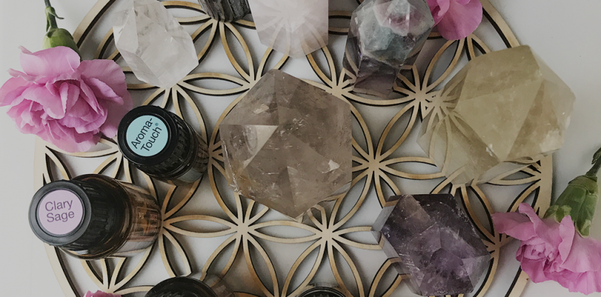 Crystals & Essential Oils 12.07.2019