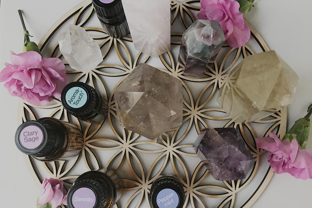 Crystals & Essential Oils 10.05.2019