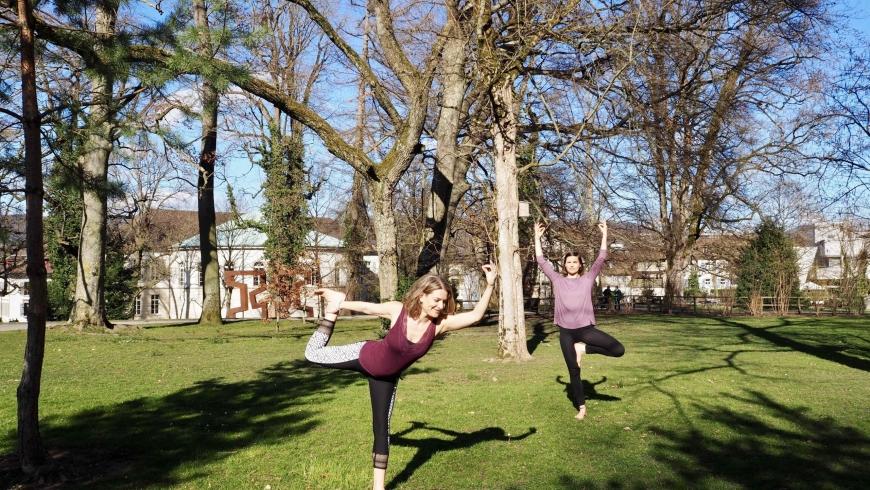 Yoga Ferien zu Hause in Aarau / Juli 2020